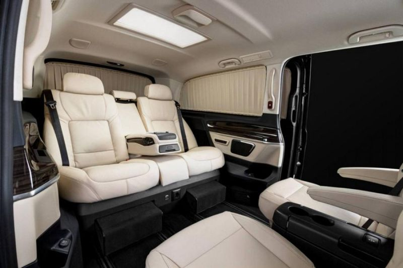 bmw luxus in der mercedes v klasse by redline engineering. Black Bedroom Furniture Sets. Home Design Ideas