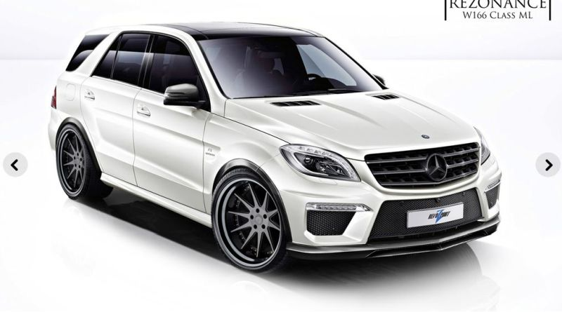 revozport ml 63 amg tuning 3 RevoZport Mercedes ML63 AMG als Resonance ML