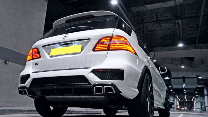 revozport ml 63 amg tuning 5 RevoZport Mercedes ML63 AMG als Resonance ML