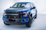 roush f 150 2016 supercharged 4 190x127 Roush Performance Ford F 150 in Metallic Blau
