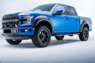roush f 150 2016 supercharged 5 190x127 Roush Performance Ford F 150 in Metallic Blau