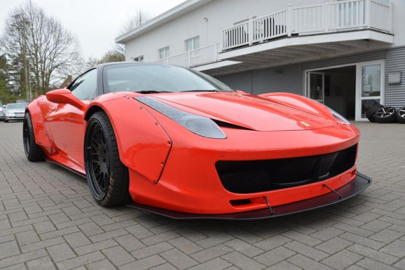 tuning jp performance 458er italia 1 zu verkaufen: JP Performance Ferrari 458 Liberty Walk