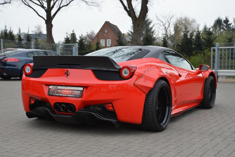tuning jp performance 458er italia 3 zu verkaufen: JP Performance Ferrari 458 Liberty Walk