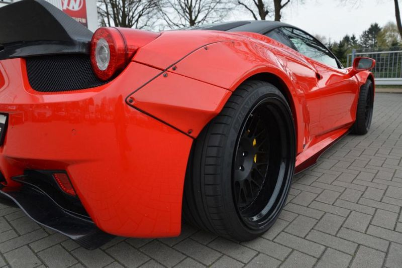 tuning jp performance 458er italia 7 zu verkaufen: JP Performance Ferrari 458 Liberty Walk