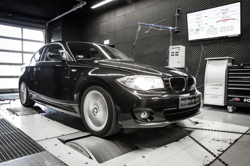 172PS 382NM BMW 118d E87 Chiptuning Mcchip DKR 5 172PS & 382NM im kleinen BMW 118d E87 by Mcchip DKR