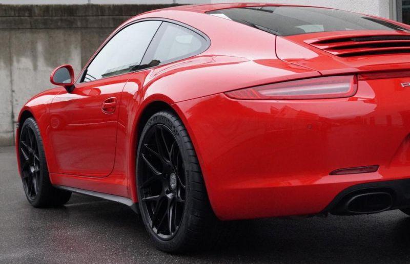 20 Zoll HRE Flowform Tarmac Porsche 911 991 cartech.ch Tuning 5 20 Zoll HRE Flowform Tarmac am Porsche 911 (991)