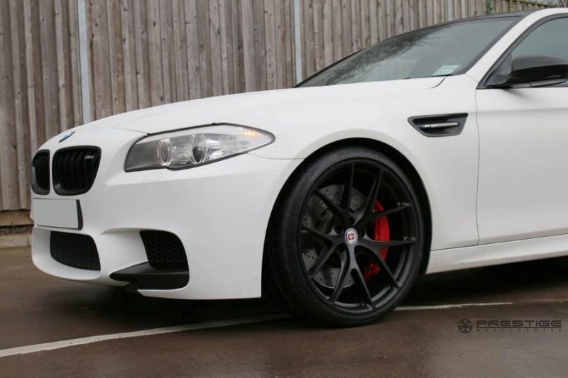 20 Zoll HRE P101 Radsatz Tuning BMW M5 F10 1 Dezenter M5   HRE Performance Wheels am BMW M5 F10