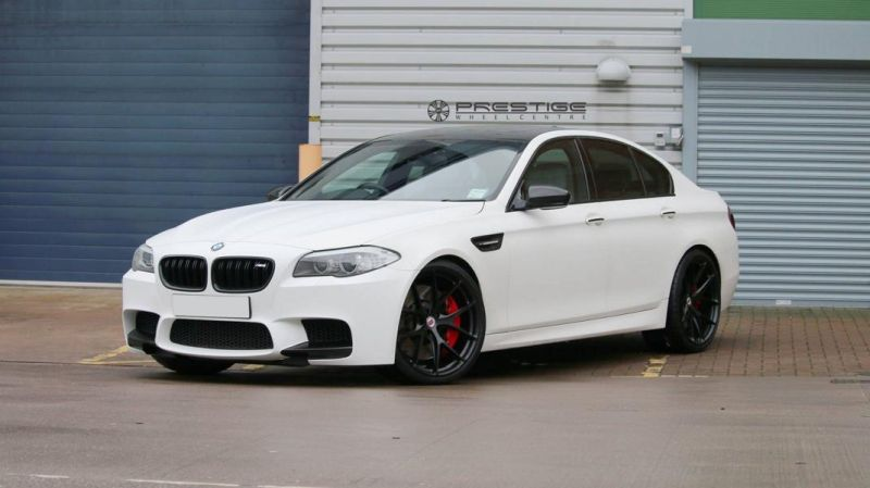 20 Zoll HRE P101 Radsatz Tuning BMW M5 F10 3 Dezenter M5   HRE Performance Wheels am BMW M5 F10