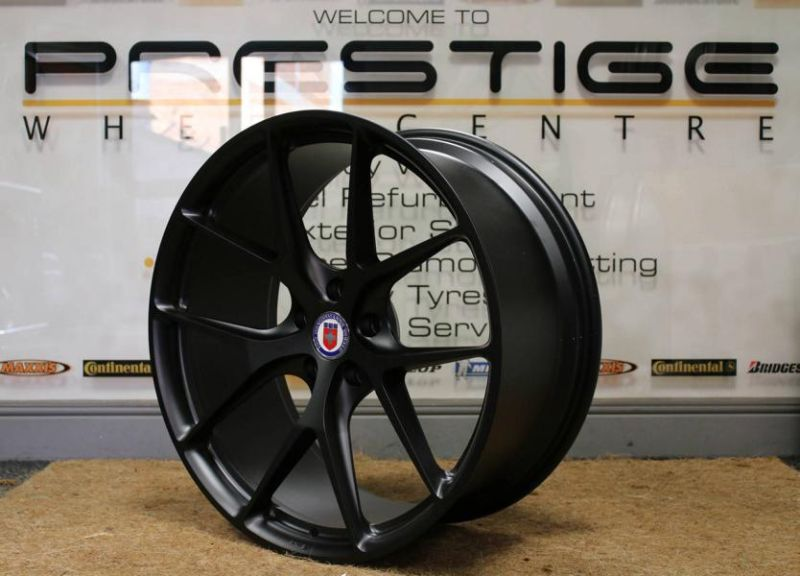 20 Zoll HRE P101 Radsatz Tuning BMW M5 F10 4 Dezenter M5   HRE Performance Wheels am BMW M5 F10
