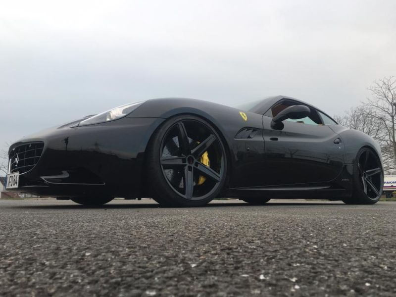 22 Zoll Oxigin 18 Felgen ML Concept Ferrari California 8 22 Zoll Oxigin 18 Felgen am ML Concept Ferrari California