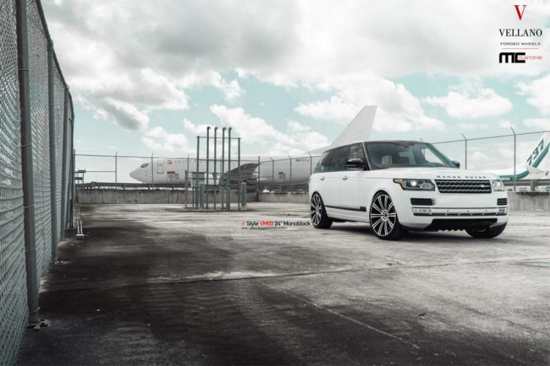 24 Zoll Vellano Forged Wheels VM03 am Range Rover MC Customs 1 Riesig   24 Zoll Vellano Forged Wheels VM03 am Range Rover