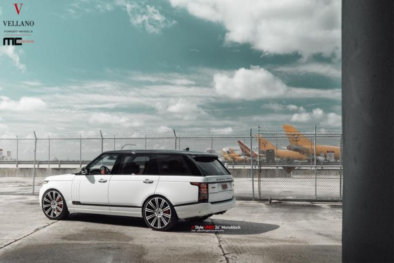 24 Zoll Vellano Forged Wheels VM03 am Range Rover MC Customs 2 Riesig   24 Zoll Vellano Forged Wheels VM03 am Range Rover