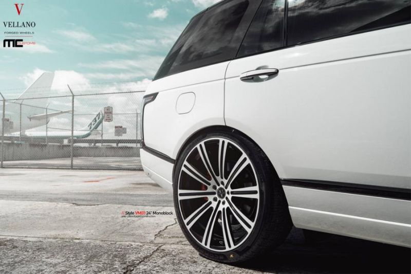 24 Zoll Vellano Forged Wheels VM03 am Range Rover MC Customs 4 Riesig   24 Zoll Vellano Forged Wheels VM03 am Range Rover