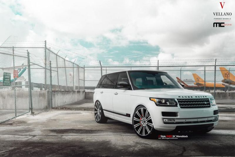 24 Zoll Vellano Forged Wheels VM03 am Range Rover MC Customs 6 Riesig   24 Zoll Vellano Forged Wheels VM03 am Range Rover