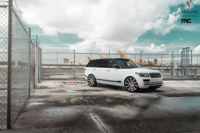 24 Zoll Vellano Forged Wheels VM03 am Range Rover MC Customs 8 Riesig   24 Zoll Vellano Forged Wheels VM03 am Range Rover