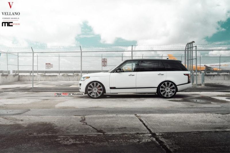 24 Zoll Vellano Forged Wheels VM03 am Range Rover MC Customs 9 Riesig   24 Zoll Vellano Forged Wheels VM03 am Range Rover