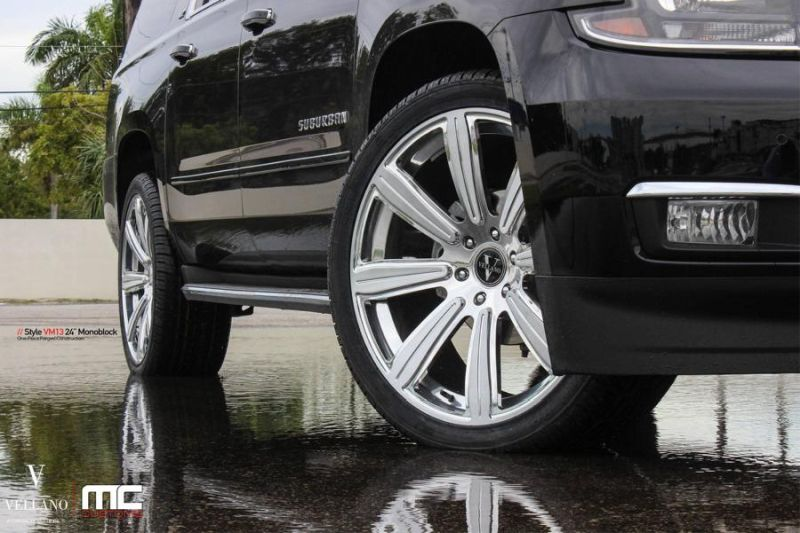 24 Zoll Vellano VM13 Alufelgen Tuning Chevrolet Suburban MC Customs 3 24 Zoll Vellano VM13 Alu's am Chevrolet Suburban