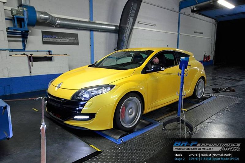329PS BR Performance Renault Mégane III RS 2.0T Chiptuning 1 Von 265PS auf 329PS im BR Performance Renault Mégane III RS 2.0T
