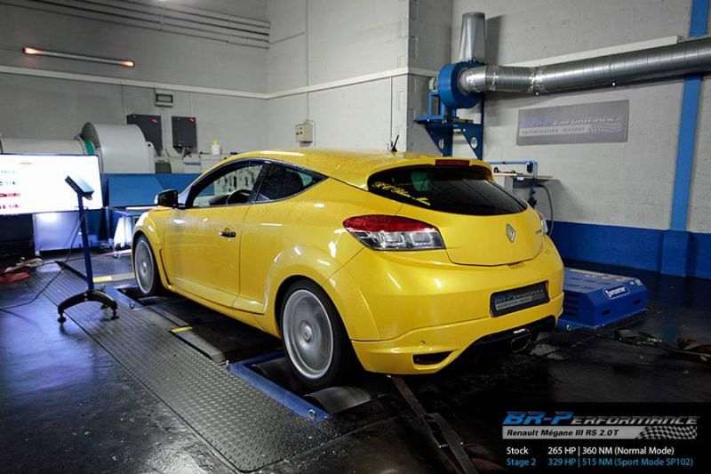 329PS BR Performance Renault Mégane III RS 2.0T Chiptuning 2 Von 265PS auf 329PS im BR Performance Renault Mégane III RS 2.0T
