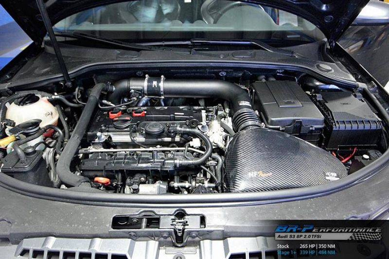 339PS & 454NM Audi S3 8P 2.0 TFSi BR Performance Chiptuning 2