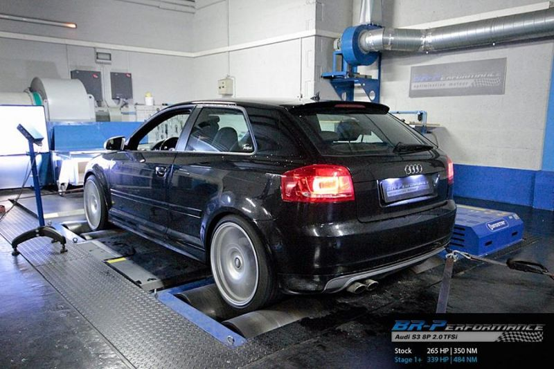 339PS & 454NM Audi S3 8P 2.0 TFSi BR Performance Chiptuning 3