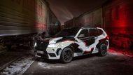 550PS im Camouflage BMW X3 M50d aus Russland 3 190x107 Brutal   550PS im Camouflage BMW X3 M50d aus Russland