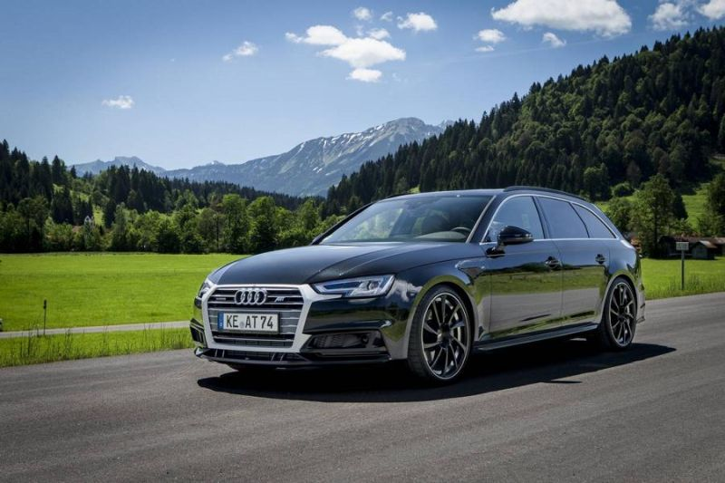 Elegant Abt Sportsline Shows The Audi A4 B9 As4
