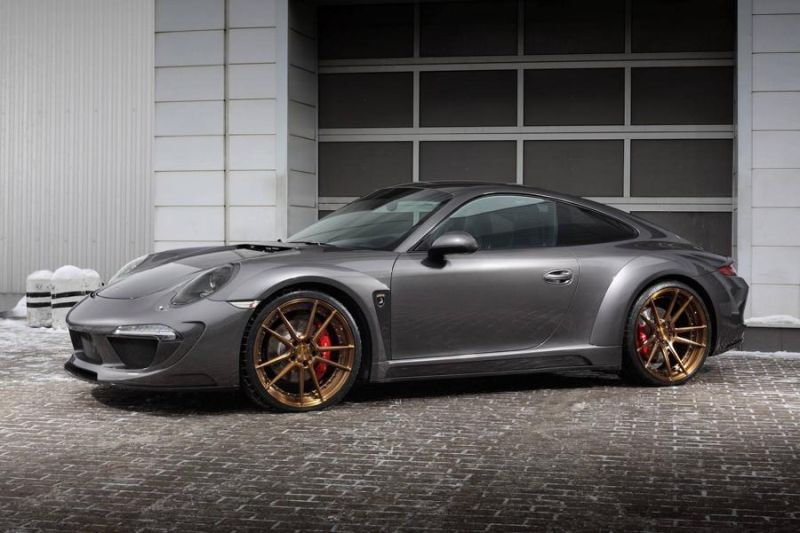 ADV.1 Wheels TopCar Porsche Carrera 4S Stinger Tuning 1 ADV.1 Wheels Alu's am TopCar Porsche Carrera 4S Stinger