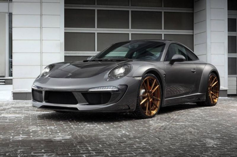 ADV.1 Wheels TopCar Porsche Carrera 4S Stinger Tuning 2 ADV.1 Wheels Alu's am TopCar Porsche Carrera 4S Stinger