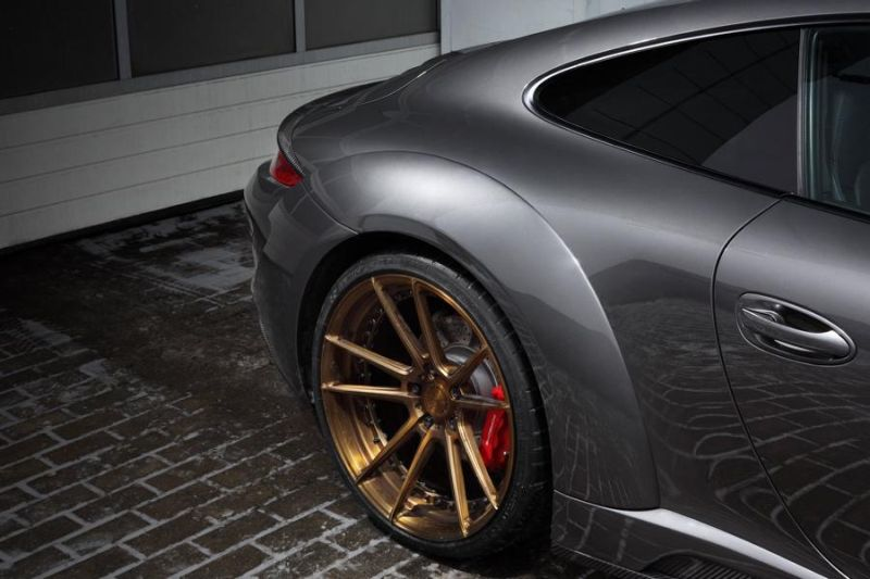 ADV.1 Wheels TopCar Porsche Carrera 4S Stinger Tuning 5 ADV.1 Wheels Alu's am TopCar Porsche Carrera 4S Stinger