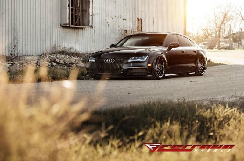 AUDI A7 Need 4 Speed Motorsports Ferrada FR4 Tuning 2 Tief & Schwarz   AUDI A7 by Need 4 Speed Motorsports