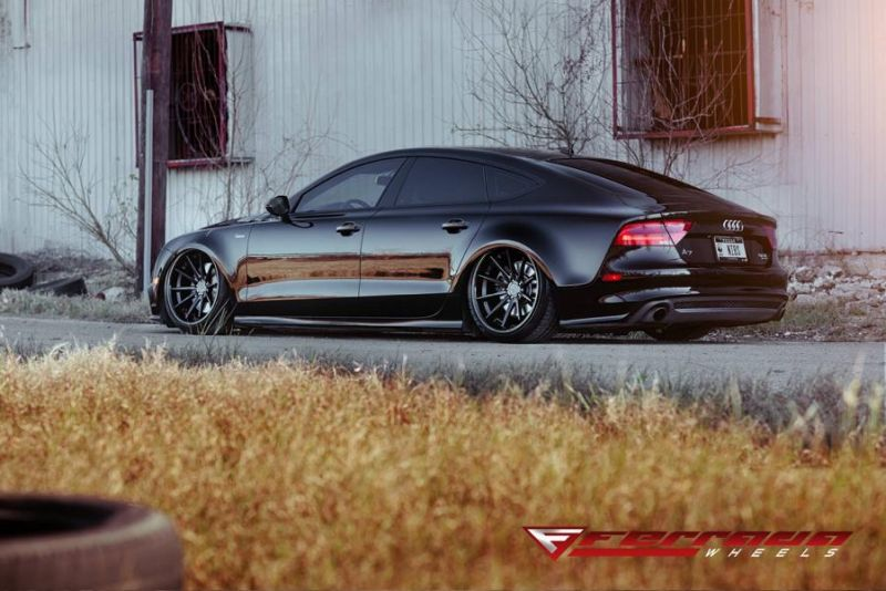 AUDI A7 Need 4 Speed Motorsports Ferrada FR4 Tuning 4 Tief & Schwarz   AUDI A7 by Need 4 Speed Motorsports