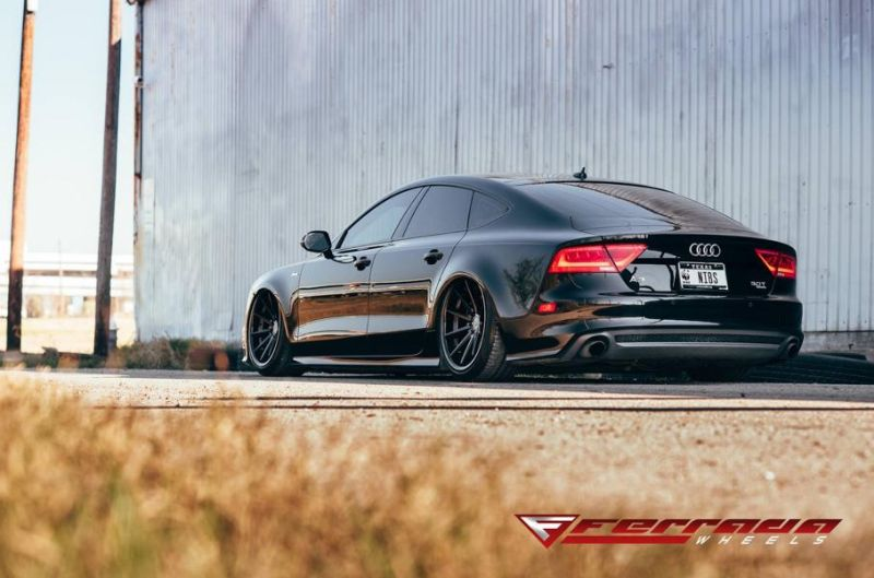 AUDI A7 Need 4 Speed Motorsports Ferrada FR4 Tuning 8 Tief & Schwarz   AUDI A7 by Need 4 Speed Motorsports