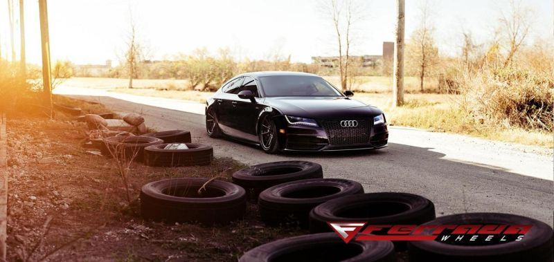 AUDI A7 Need 4 Speed Motorsports Ferrada FR4 Tuning 9 Tief & Schwarz   AUDI A7 by Need 4 Speed Motorsports