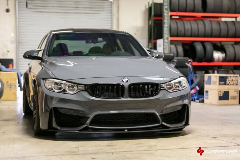 AWE Sportauspuff KW Federn Supreme Power BMW M3 F80 Tuning 3 AWE Sportauspuff & KW Federn im Supreme Power BMW M3