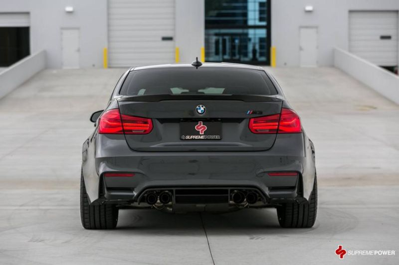 AWE Sportauspuff KW Federn Supreme Power BMW M3 F80 Tuning 5 AWE Sportauspuff & KW Federn im Supreme Power BMW M3