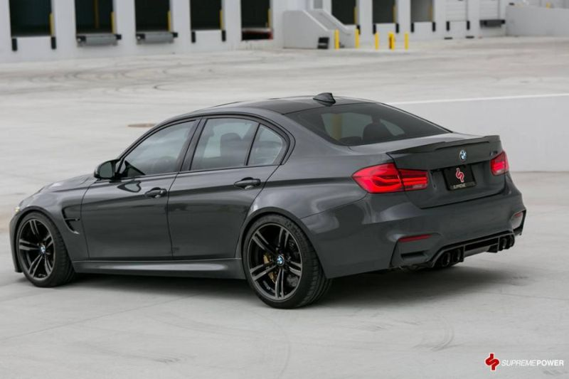 AWE Sportauspuff KW Federn Supreme Power BMW M3 F80 Tuning 8 AWE Sportauspuff & KW Federn im Supreme Power BMW M3