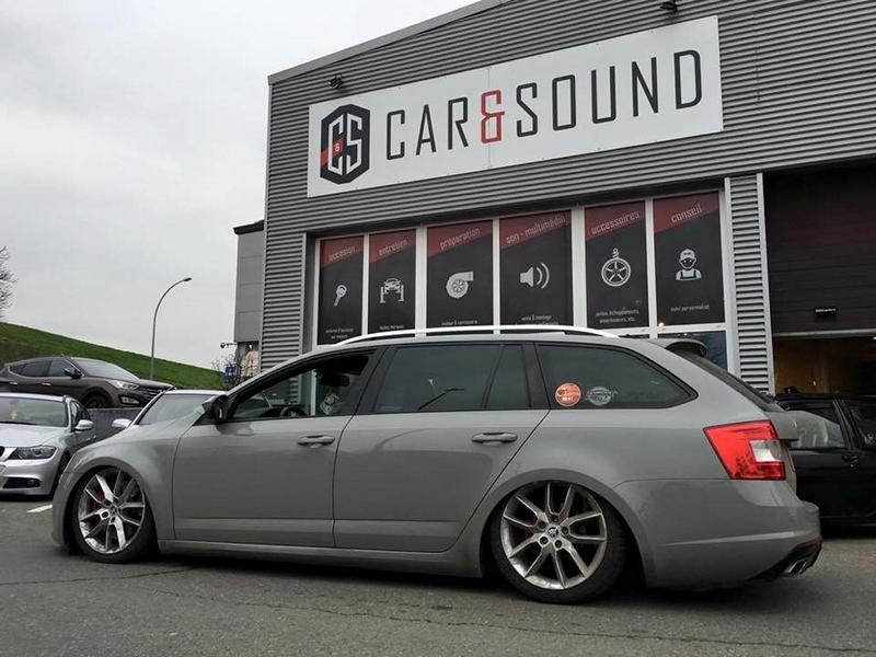 AccuAir Skoda Octavia RS by Car Sound Tuning 1 Hammer tief   AccuAir Skoda Octavia RS by Car & Sound
