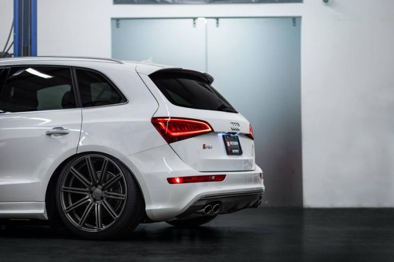 Accuair Audi SQ5 Tuning Boden Autohaus Vossen Wheels 2