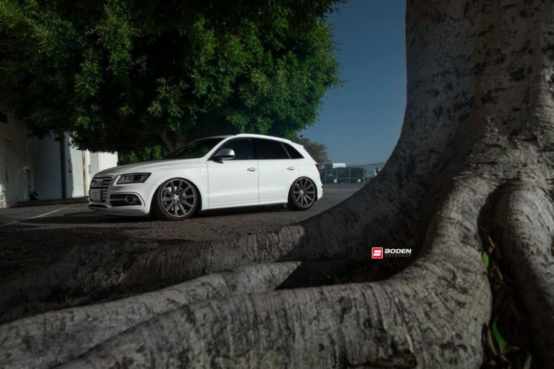 Accuair Audi SQ5 Tuning Boden Autohaus Vossen Wheels 5