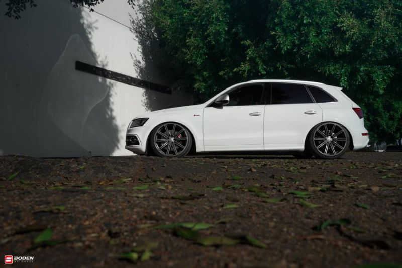 Accuair Audi SQ5 Tuning Boden Autohaus Vossen Wheels 6