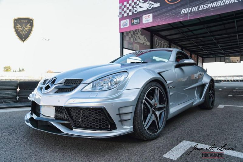 Atarius Arrow Bodykit Mercedes SLK R171 AMG Tuning 1 Atarius Arrow Bodykit am Mercedes SLK R171 AMG