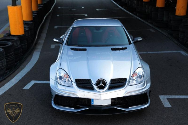 Atarius Arrow Bodykit Mercedes SLK R171 AMG Tuning 2 Atarius Arrow Bodykit am Mercedes SLK R171 AMG