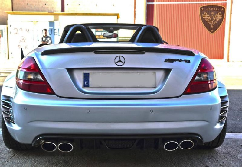 Atarius Arrow Bodykit Mercedes SLK R171 AMG Tuning 3 Atarius Arrow Bodykit am Mercedes SLK R171 AMG