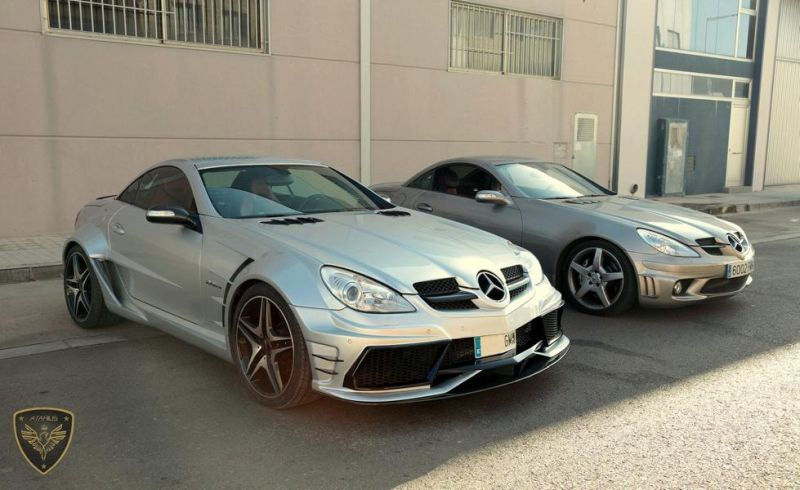 Atarius Arrow Bodykit Mercedes SLK R171 AMG Tuning 6 Atarius Arrow Bodykit am Mercedes SLK R171 AMG