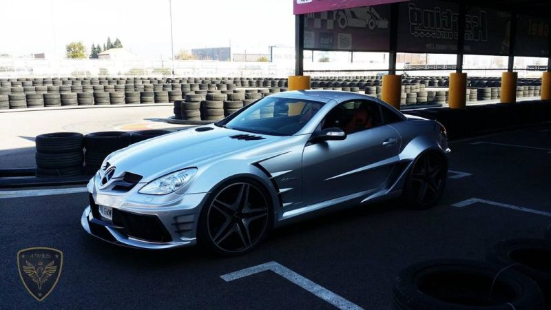 Atarius Arrow Bodykit Mercedes SLK R171 AMG Tuning 9 Atarius Arrow Bodykit am Mercedes SLK R171 AMG