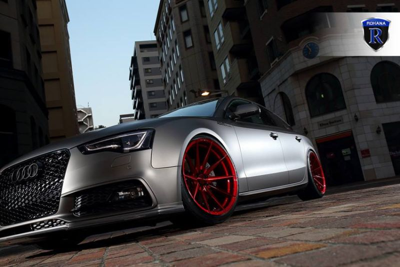 audi a5 sportback rohann wheels rf1 need4speed motorsports. Black Bedroom Furniture Sets. Home Design Ideas