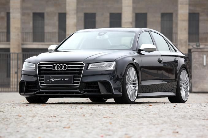 audi a8 rs8 mit hofele design rs7 optik bodykit. Black Bedroom Furniture Sets. Home Design Ideas