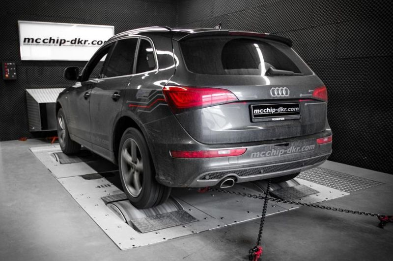Audi Q5 2.0 TDI CR Chiptuning Mcchip DKR SoftwarePerformance 1 202PS & 431NM im Audi Q5 2.0 TDI CR by Mcchip DKR