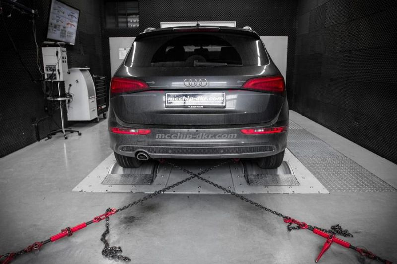 Audi Q5 2.0 TDI CR Chiptuning Mcchip DKR SoftwarePerformance 2 202PS & 431NM im Audi Q5 2.0 TDI CR by Mcchip DKR
